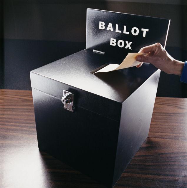 campaign election ballot box vote