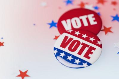 campaign election vote buttons