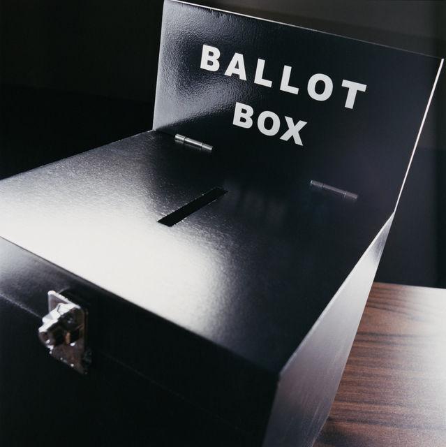 campaign election ballot box