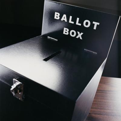 campaign election ballot box
