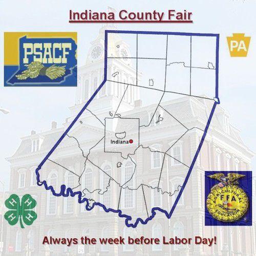 Indiana County Fair emblem