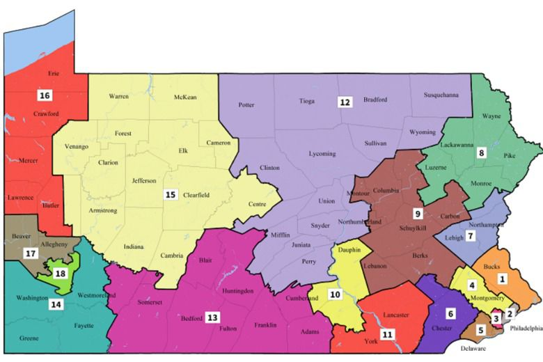 Indiana County moves into expansive 15th District under new voting