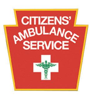 CITIZENS' AMBULANCE SERVICE logo