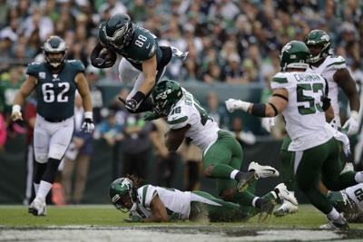 APTOPIX Jets Eagles Football