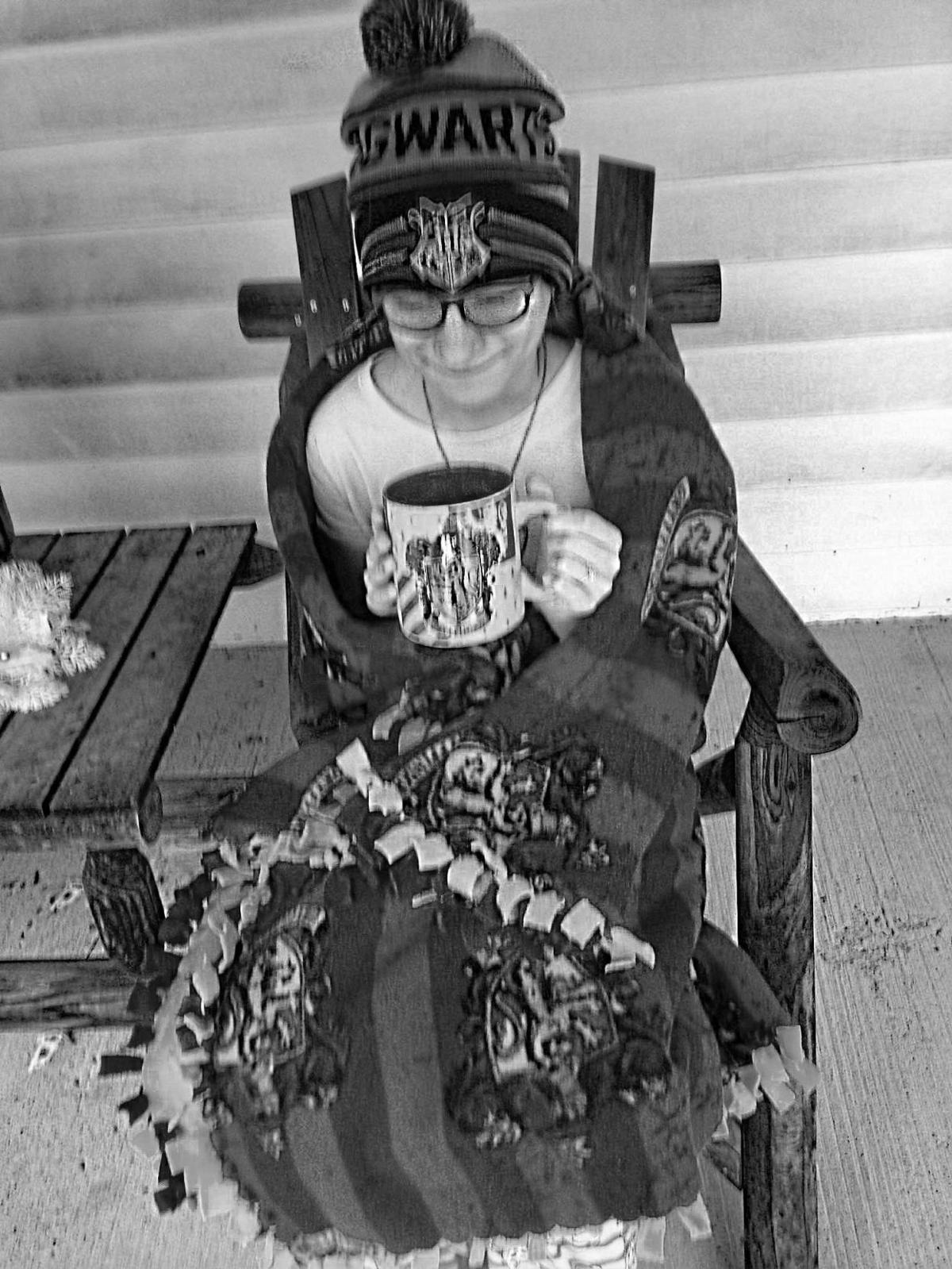 Girl scouts announce new patch news indianagazette rena shotts 13 of marion center enjoyed a warm cup of hot chocolate on her front porch as part of the girl scouts western pennsylvania get outdoors publicscrutiny Gallery