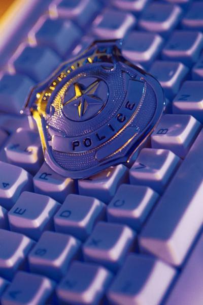 Police badge keyboard 17