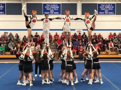 Blairsville cheerleaders