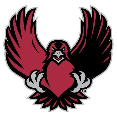IUP crimson hawk emblem