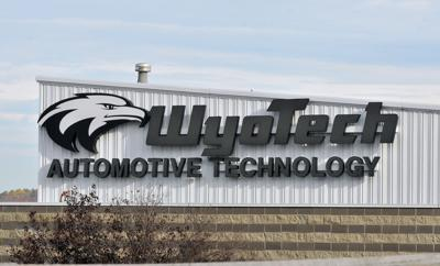 WYOTECH bldg sign