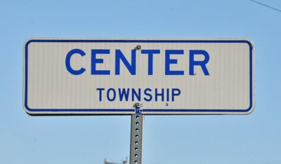 Center Township road sign