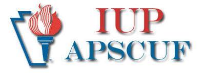 IUP APSCUF Logo