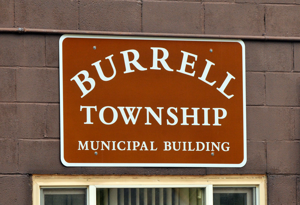 burrell township bldg sign