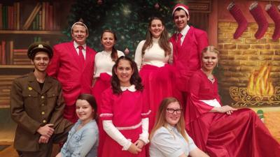 """Performing in """"White Christmas"""""""