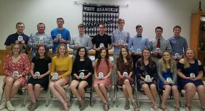 West Shamokin students of the month