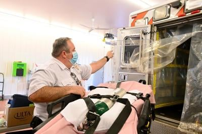 Shawn Miller, paramedic