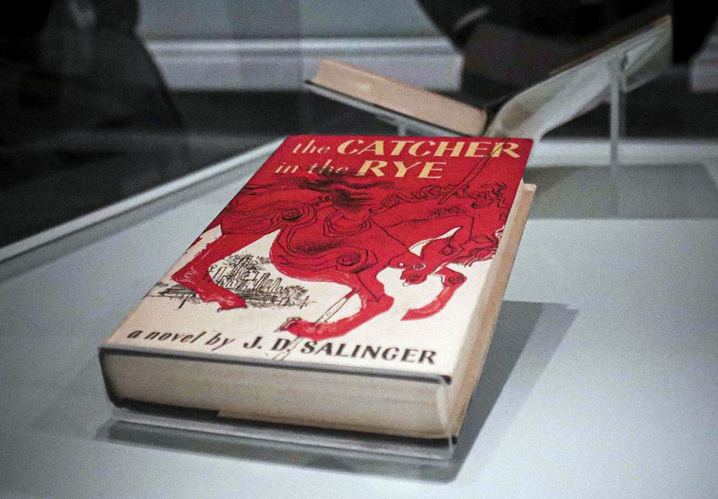 """A copy of the 1951 novel """"The Catcher in the Rye"""""""
