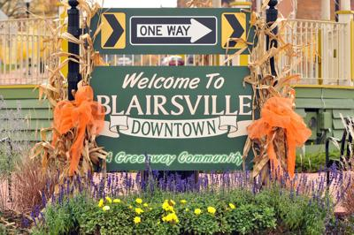 blairsville welcome sign