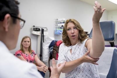 Dr. David Song examined Susan Wolfe-Tank