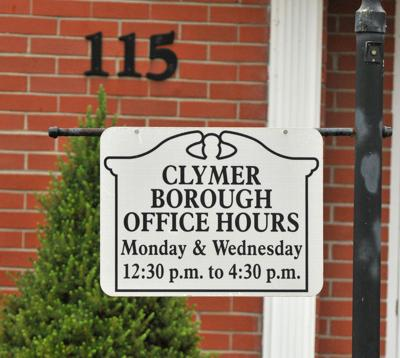 clymer borough bldg sign