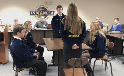 FFA students follow the rules