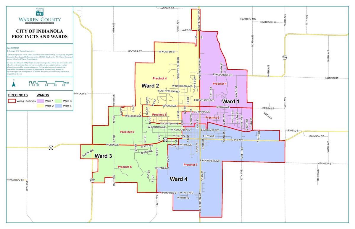Indianola city council precincts