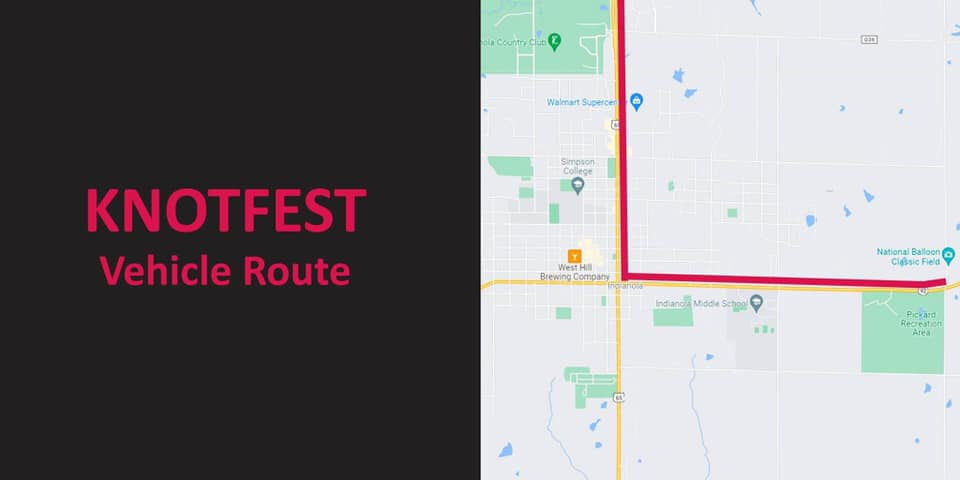 Knotfest vehicle route