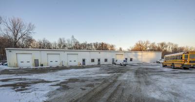 Indianola school bus barn