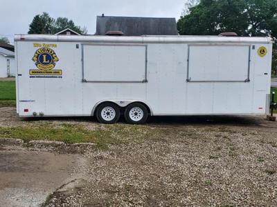 Lion's Club new concession trailer makes its debut