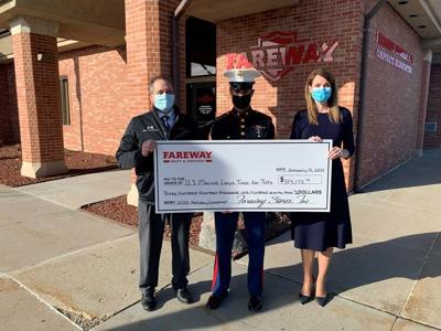 Fareway and Toys for Tots