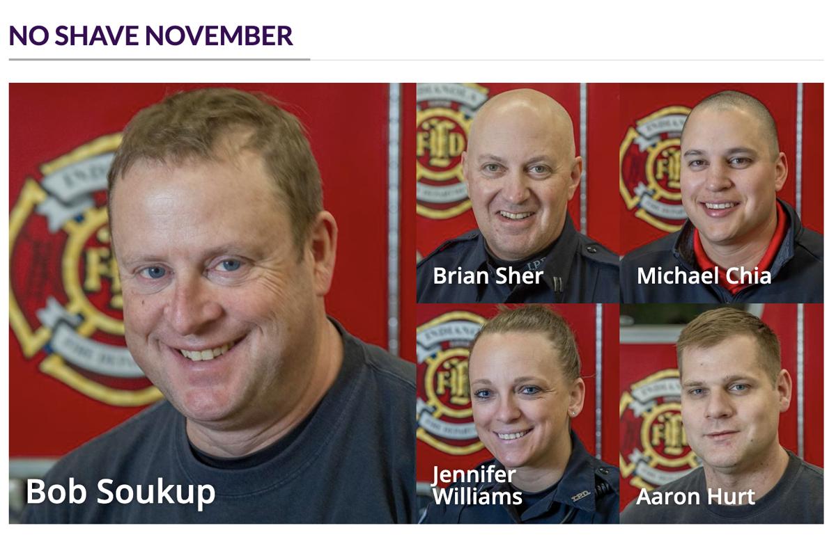 No Shave November collage