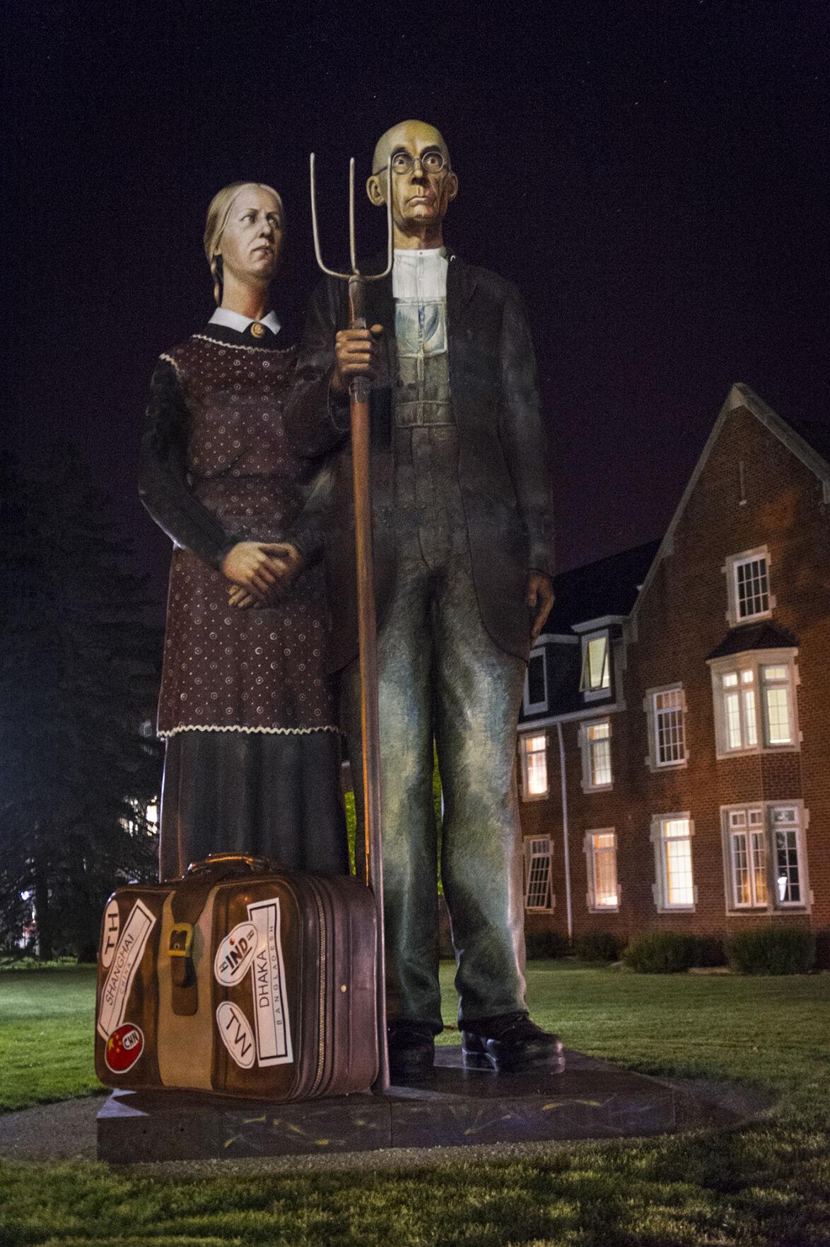 God Bless America - American Gothic Indianola, Iowa