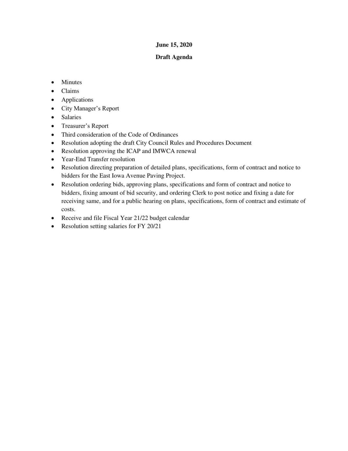 Anticipated June 15 CC Agenda.pdf