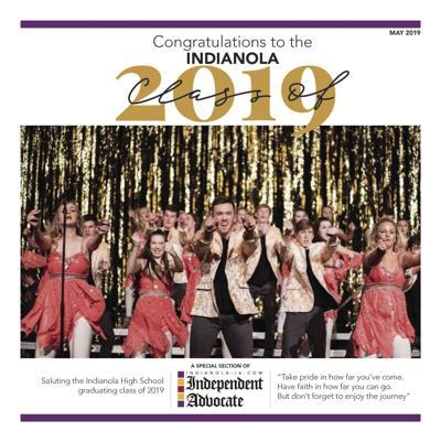 2019 Indianola graduation section