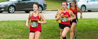 Simpson's cross country places 11th