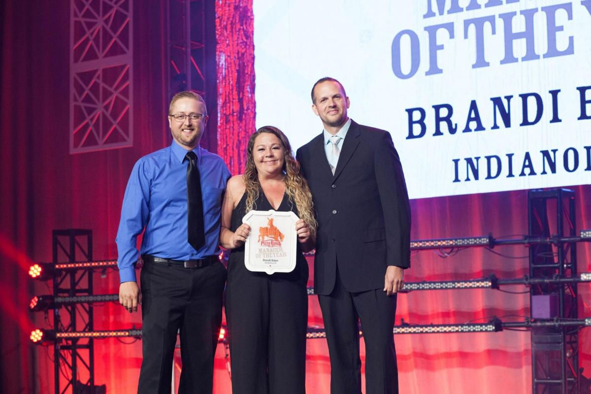 PIzza Ranch manager of the year Brandi Baker
