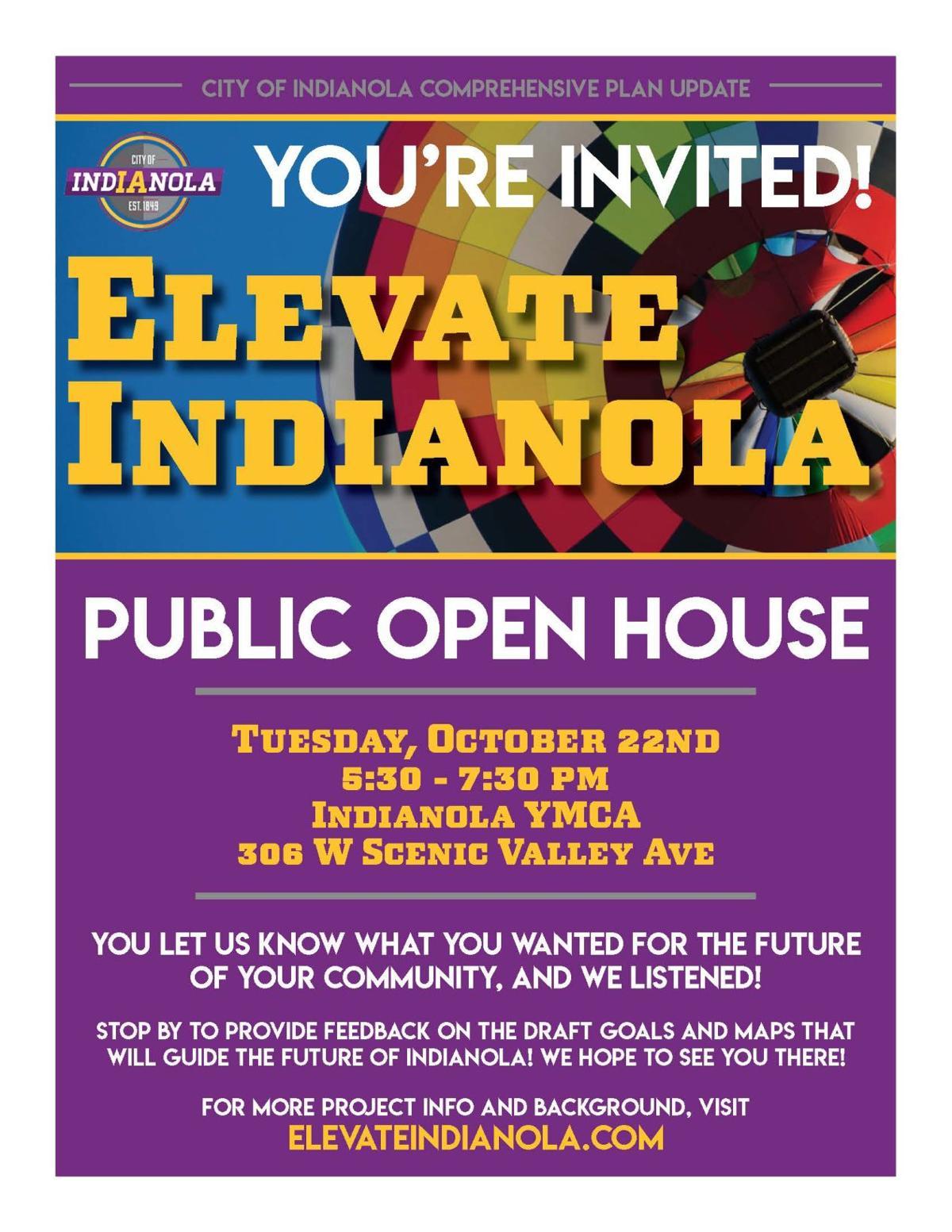 Indianola city survey invite