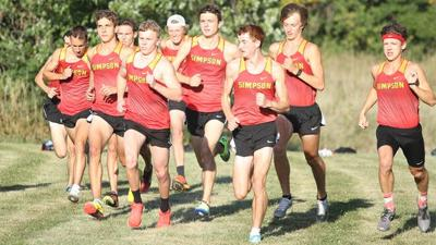Simpson College cross country