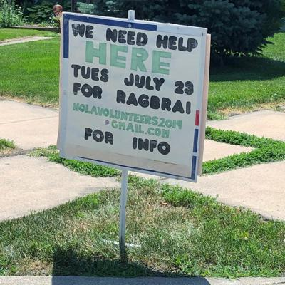 RAGBRAI volunteers
