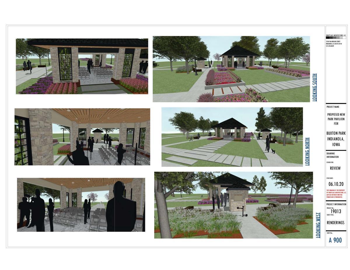 Proposed Buxton Park renovation