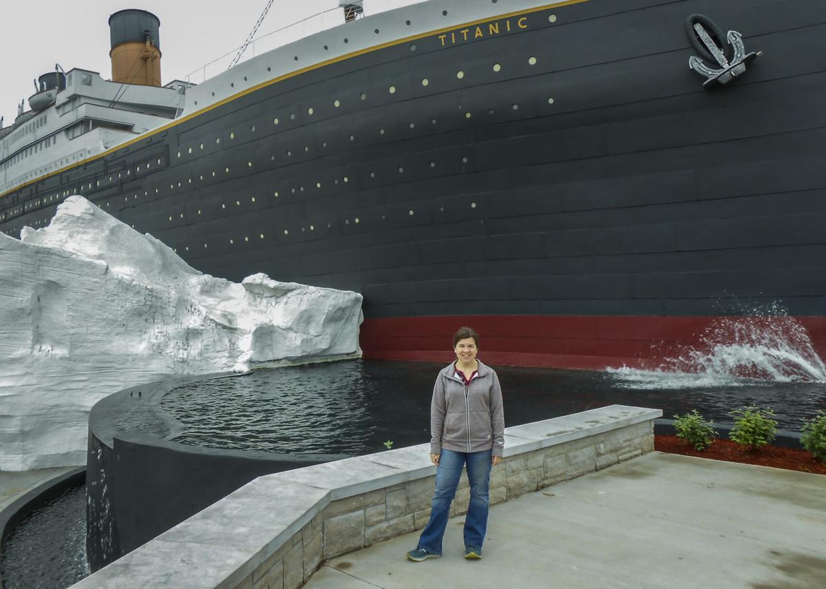 Fee-Titanic outside.jpg
