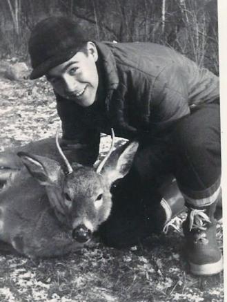 Tom Chariton.first deer