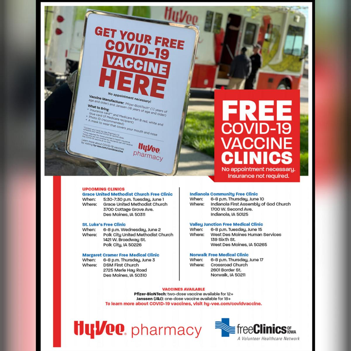 Indianola first free clinic