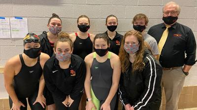 2021.Simpson College swimming and diving