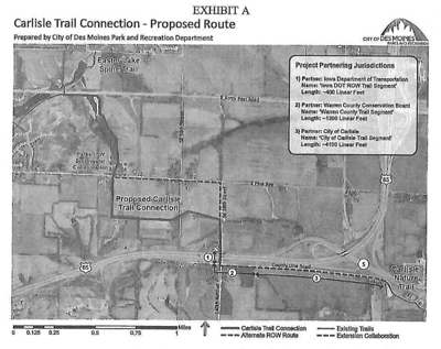 Proposed Carlisle Trail Extension