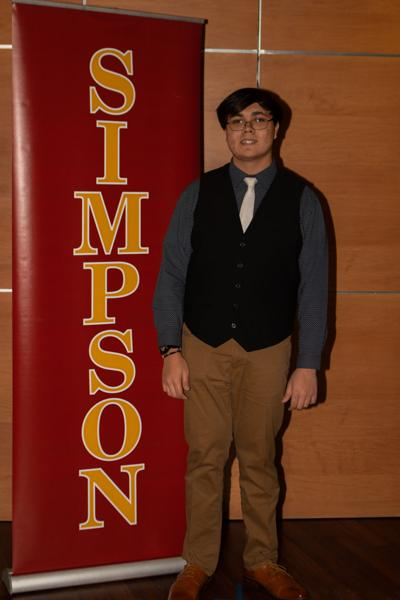 Simpson's Red & Gold Scholarship Day