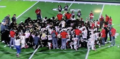 Rivals rest to pray for student athlete and family