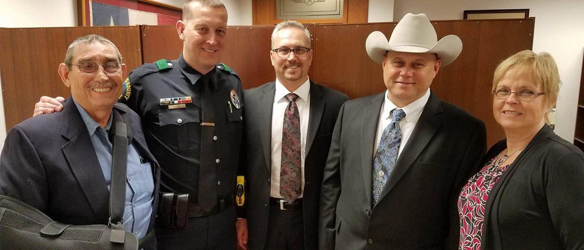 Brothers, injured in the line of duty, recognized at capitol during Texas' 85th Legislature