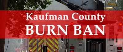 Kaufman County orders burn ban next 45 days