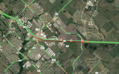Eastbound Us Highway 80 Closed Due To Fatality Crash Local News - Us-highway-80-map