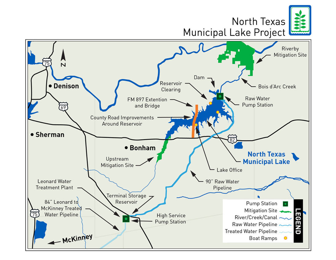 North Texas Municipal Water District Breaks Ground On